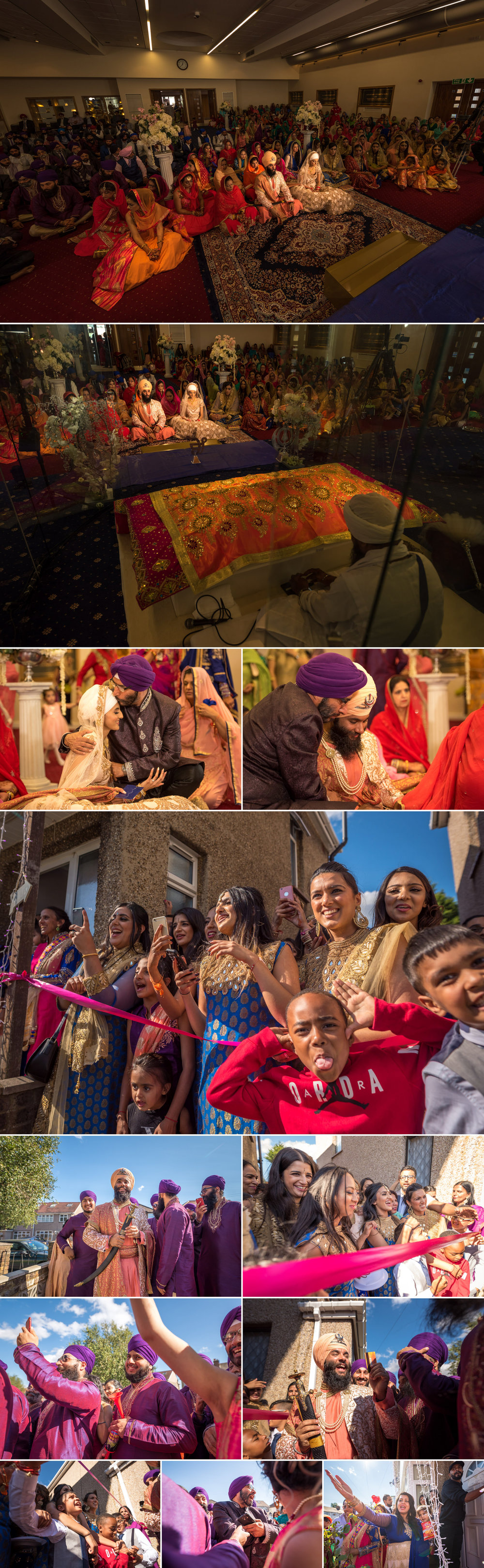 sikh wedding photography guru nanak sikh academy wedding springfield road 4