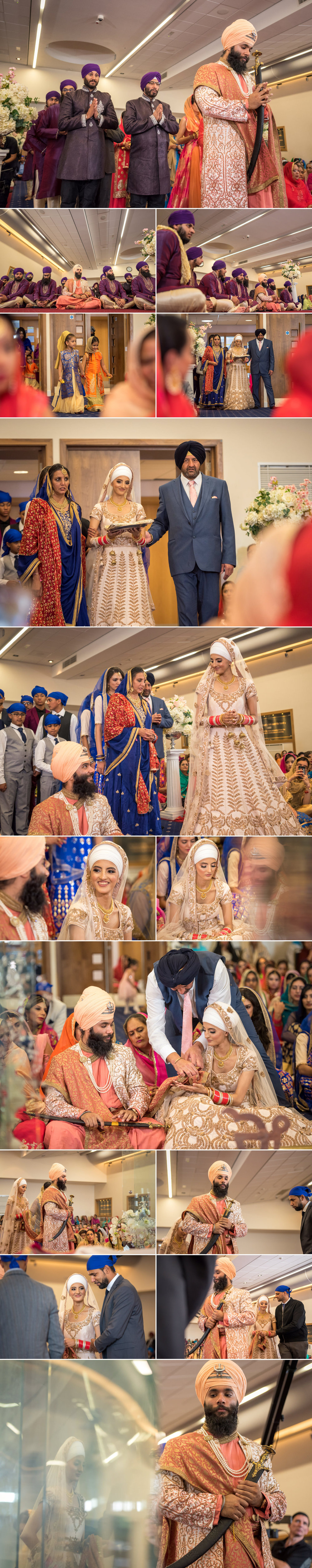 sikh wedding photography guru nanak sikh academy wedding springfield road 2