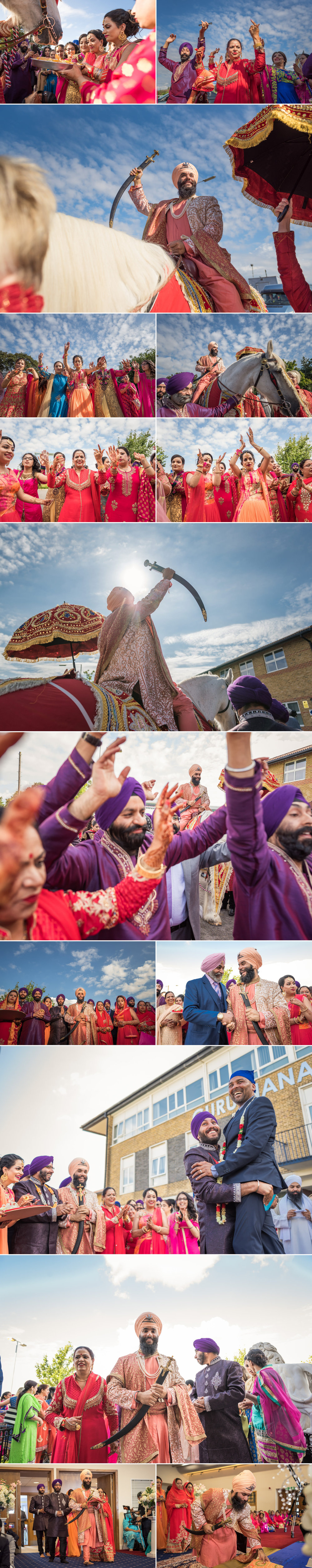 sikh wedding photography guru nanak sikh academy wedding springfield road 1