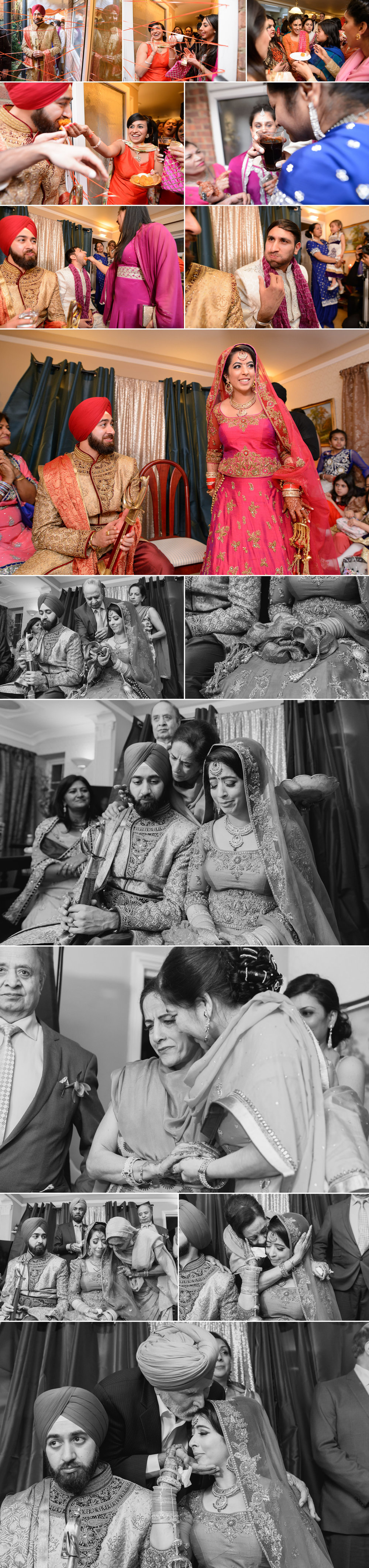 satnam photography sikh wedding ceremony alice way gurdwara london hounslow wedding photography-7