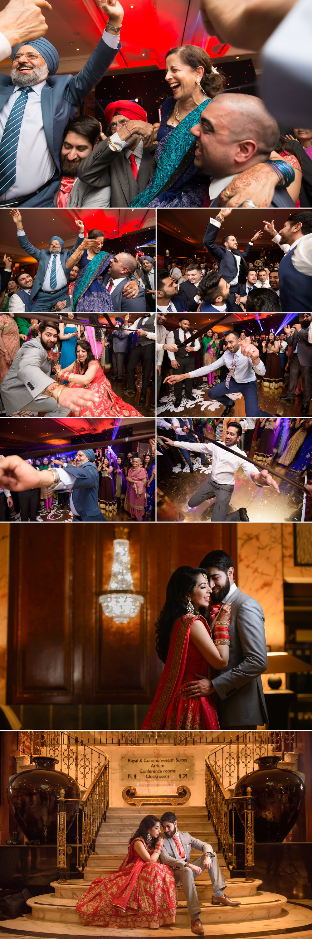 satnam photography sikh wedding reception radisson edwardian bath road london wedding photography-6