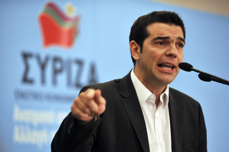 The Greek Prime Minister, Alexis Tsipras - Photo Credit