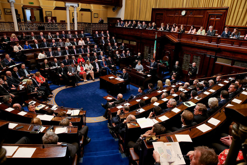 The Dáil Éireann - Photo Credit
