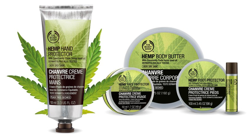 Body Shop stock a line of Hemp-infused products -  Photo Credit