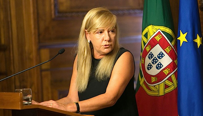 Paula Teixeira da Cruz campaigned for reform in 2015 - Photo Credit