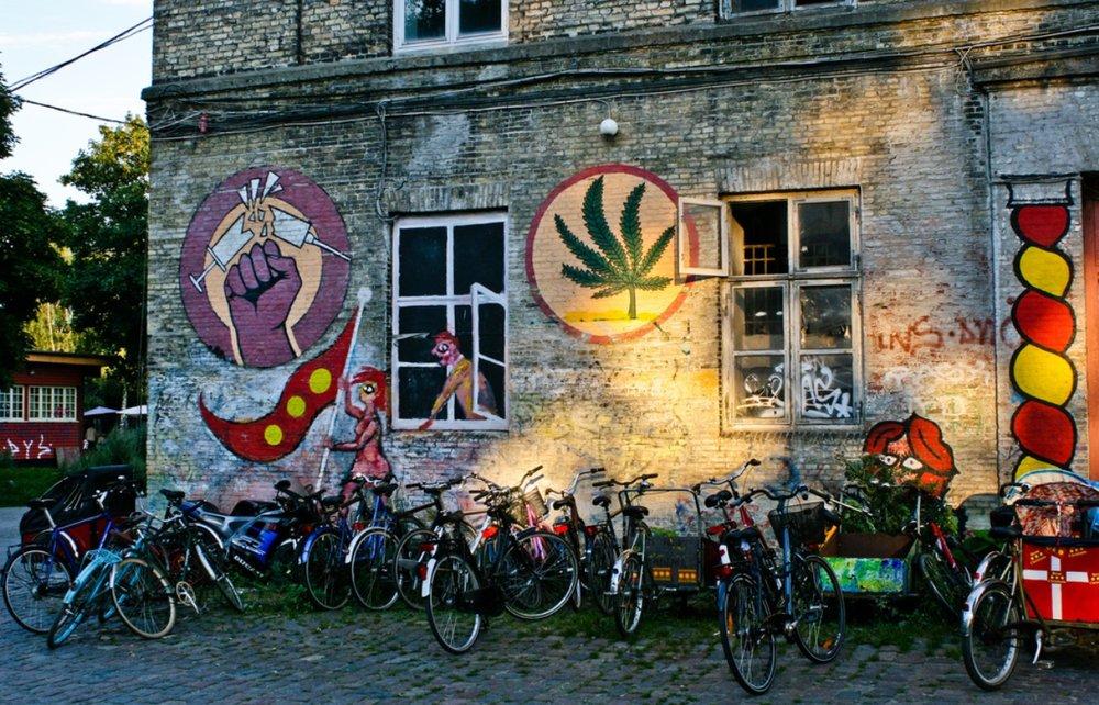 Freetown Christiana, Copenhagen -  Photo Credit