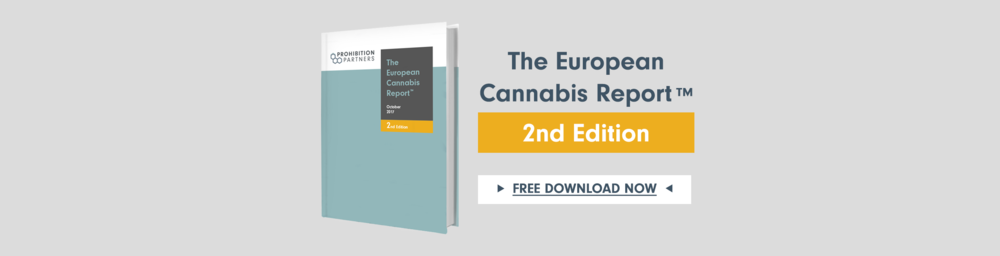 Get your free copy of The European Cannabis Report™ 2nd Edition here