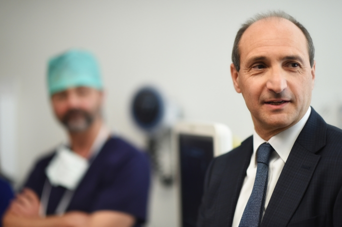 Maltese Health Minister, Chris Fearne - Photo Credit