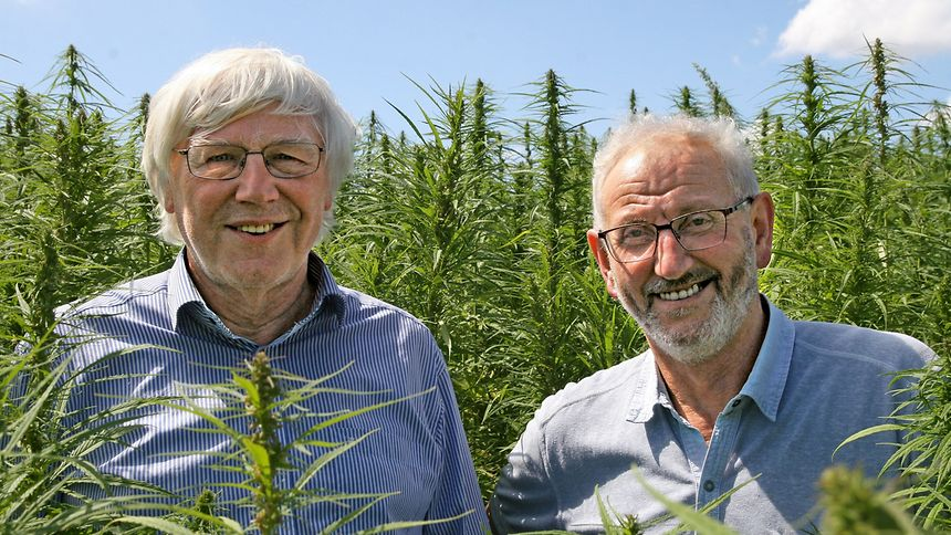 Norbert Eilenbecker and Andre Steinmetz of Cannad'Our, Wort