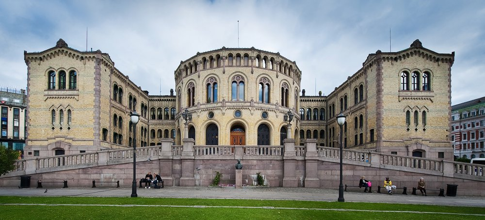(Storting Oslo, Wikimedia)