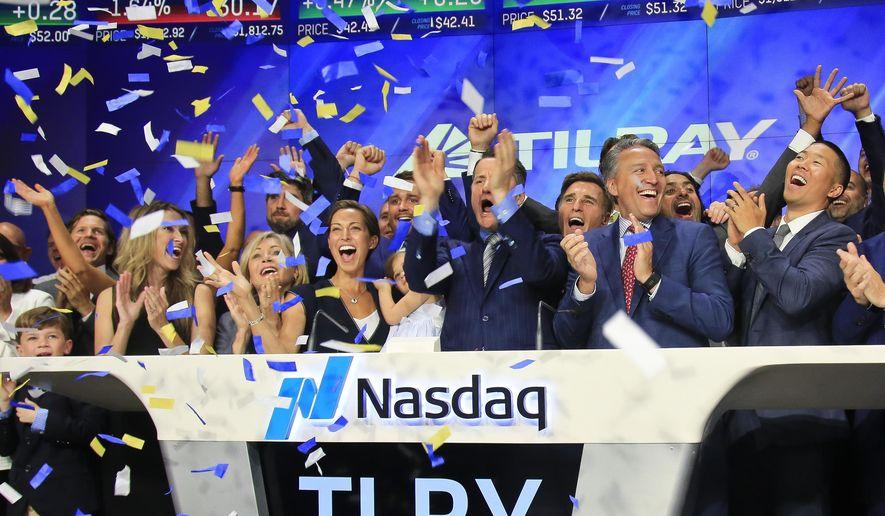 Tilray launches IPO, Source: Washington Times