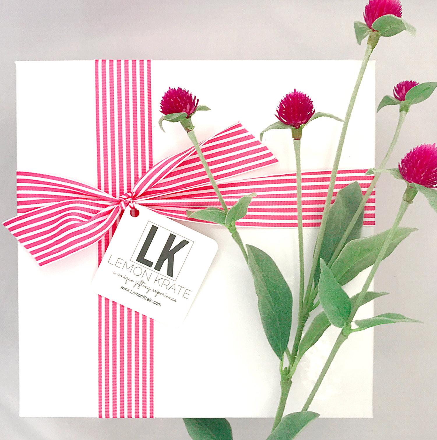 Pretty Please Lemon Krate Pre Designed And Custom Gift Boxes