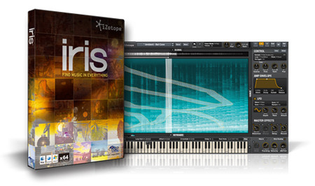 iZotope Iris Software Box and Screenshot