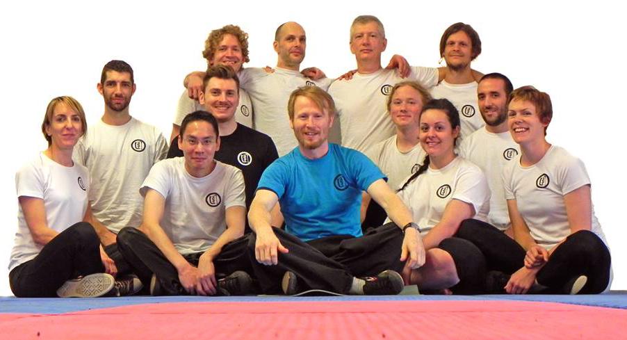 Tai Chi class in Norwich.