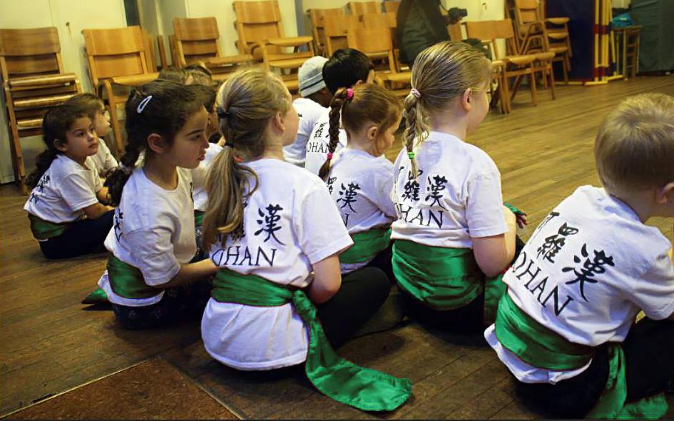 Norwich children's qigong, kids class.