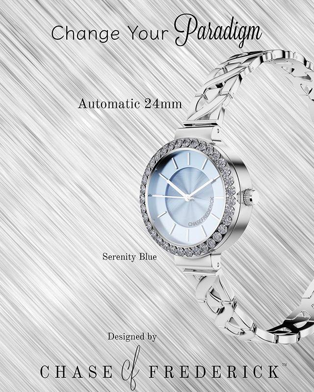 Change Your Paradigm #automaticwatch #chaseyourwatch #womenstimepieces #jewelry #socialenvy #wearabletherapy #fashion #accessory #stylish #fashionjewelry #dresslikeawoman #beyourownkindofbeautiful
