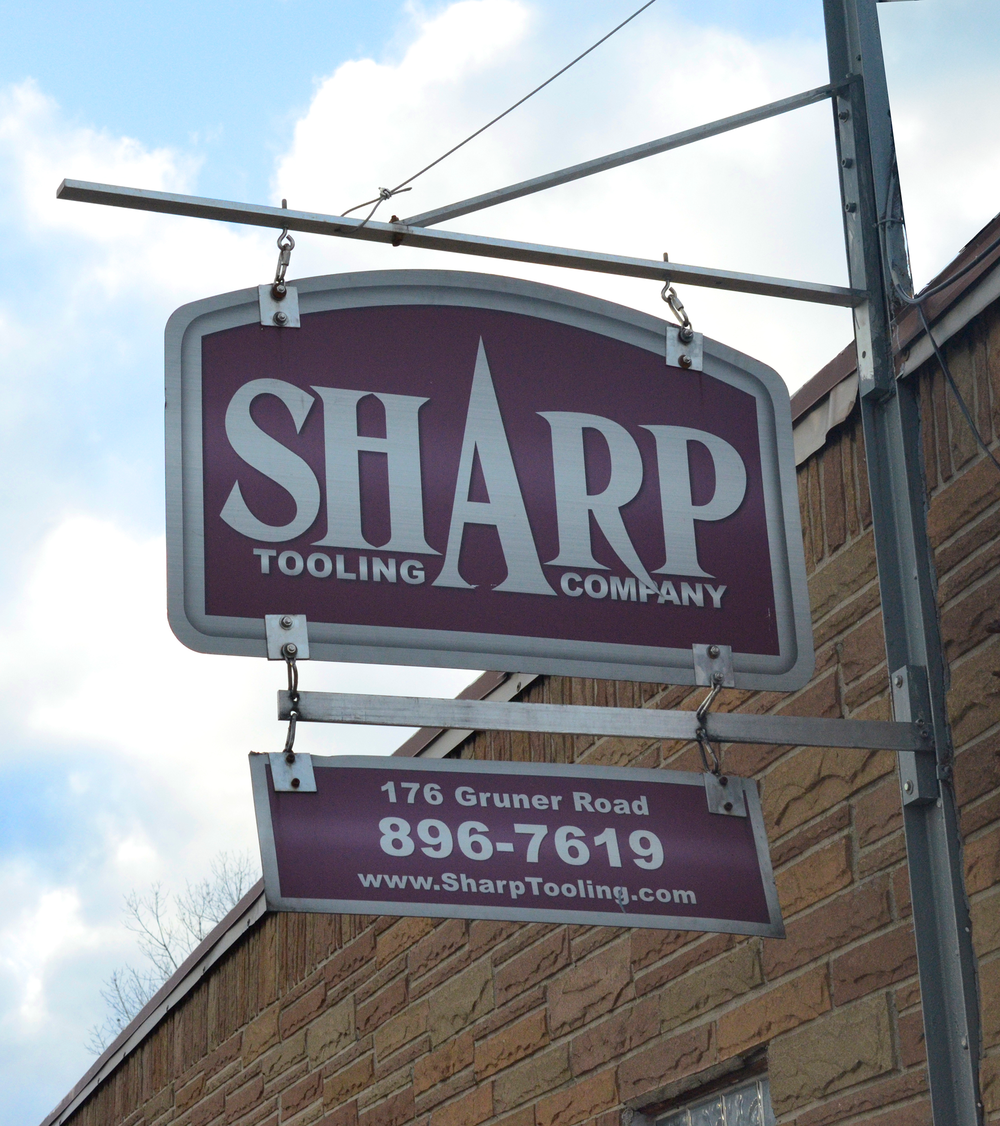 Contact Sharp Tooling Company, Buffalo NY