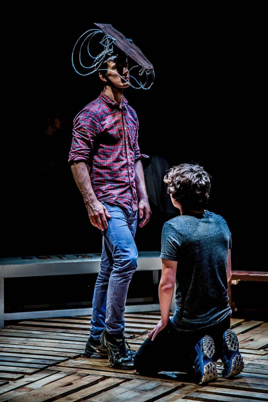 Equus (Peter Schaffer), 2015, The Byre Theatre   Image: Alexander Gillespie