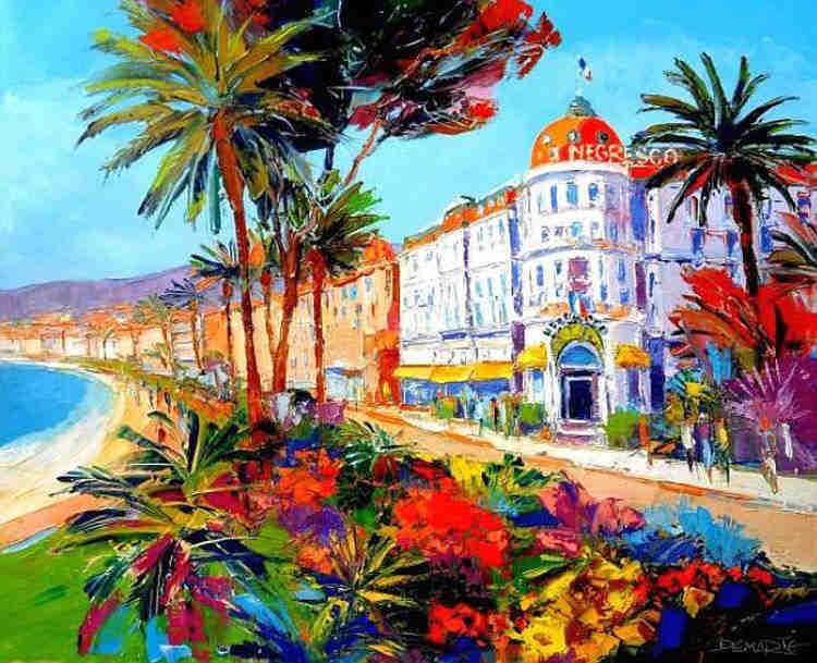 Nice, Promenade des Anglais by ALAIN DEMARTE
