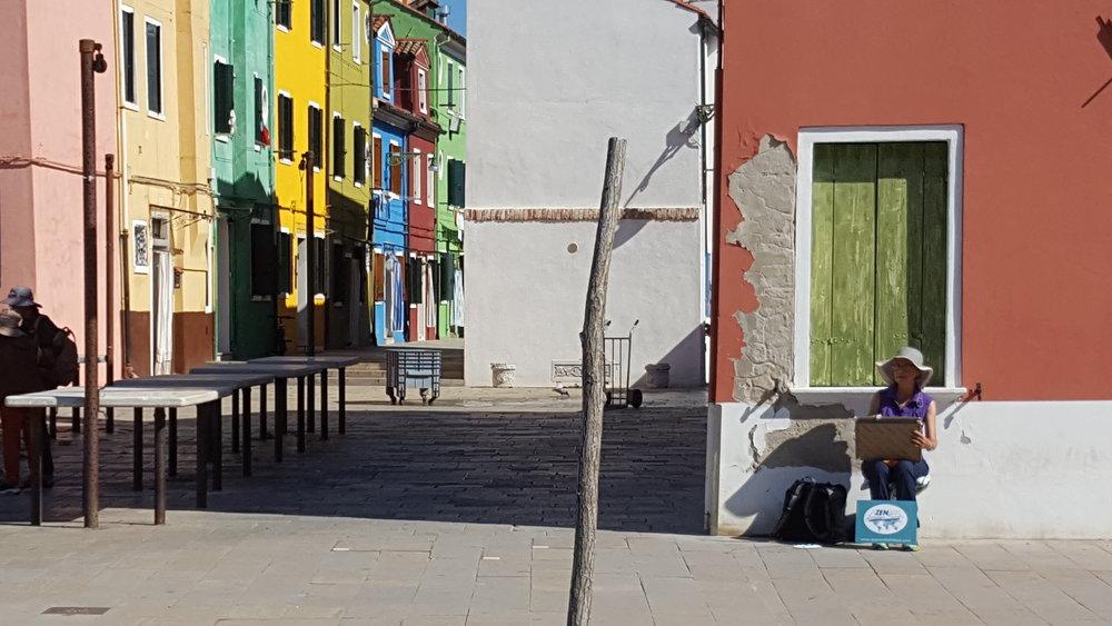 Italy art vacation