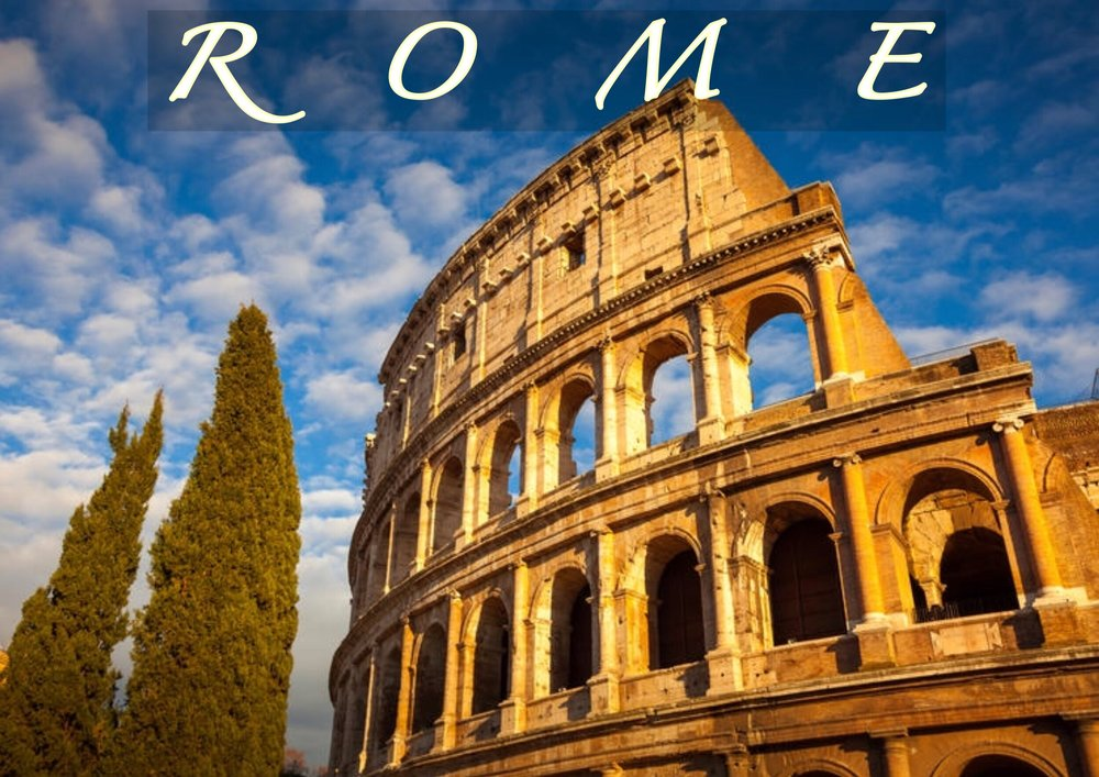 ROME Painting Holiday   Discover or rediscover the Eternal City as an artist with a small group and tutor in Rome for a week. See the COLOSSEUM, ROMAN FORUM (photo), SPANISH STEPS, BATHS OF CARACALLA and more. We have chosen perfect spots away from the crowds, just right for painting / drawing. All levels. 7 nights Single Room accommodation in ROME.    LEARN MORE
