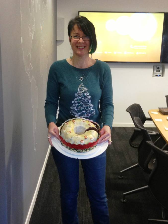 And the winner of the 2014 Christmas Bake-Off is...