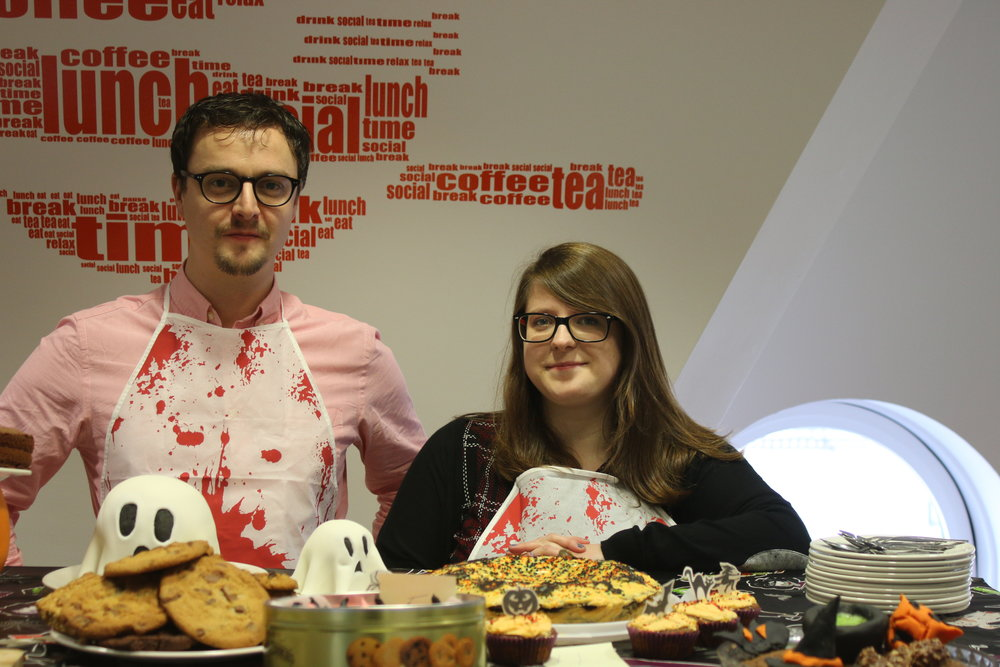 Halloween Bake-Off Judges