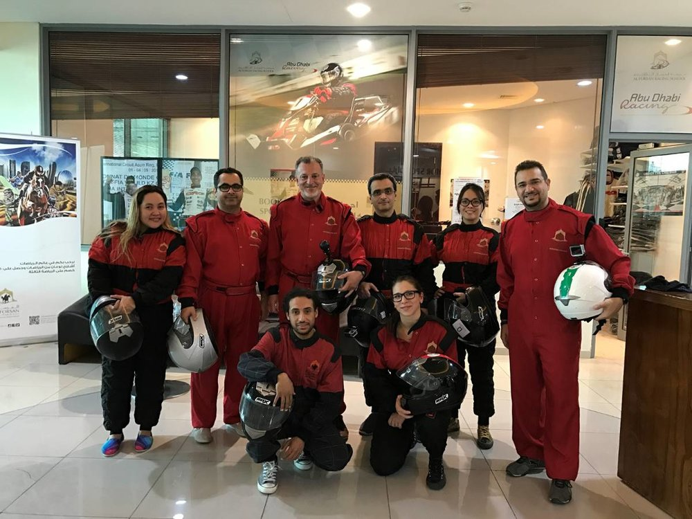PTS Middle East goes Go-Karting