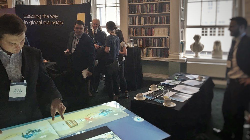 PTS Consulting at Bisnow London's Big Office Bash