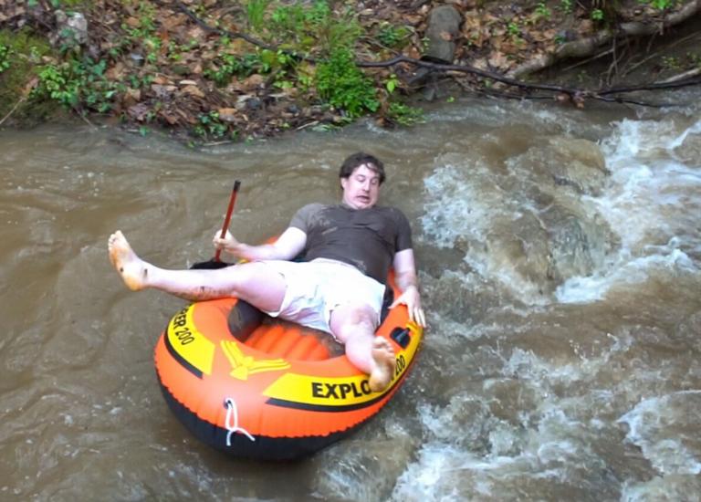 Josh-Rafting