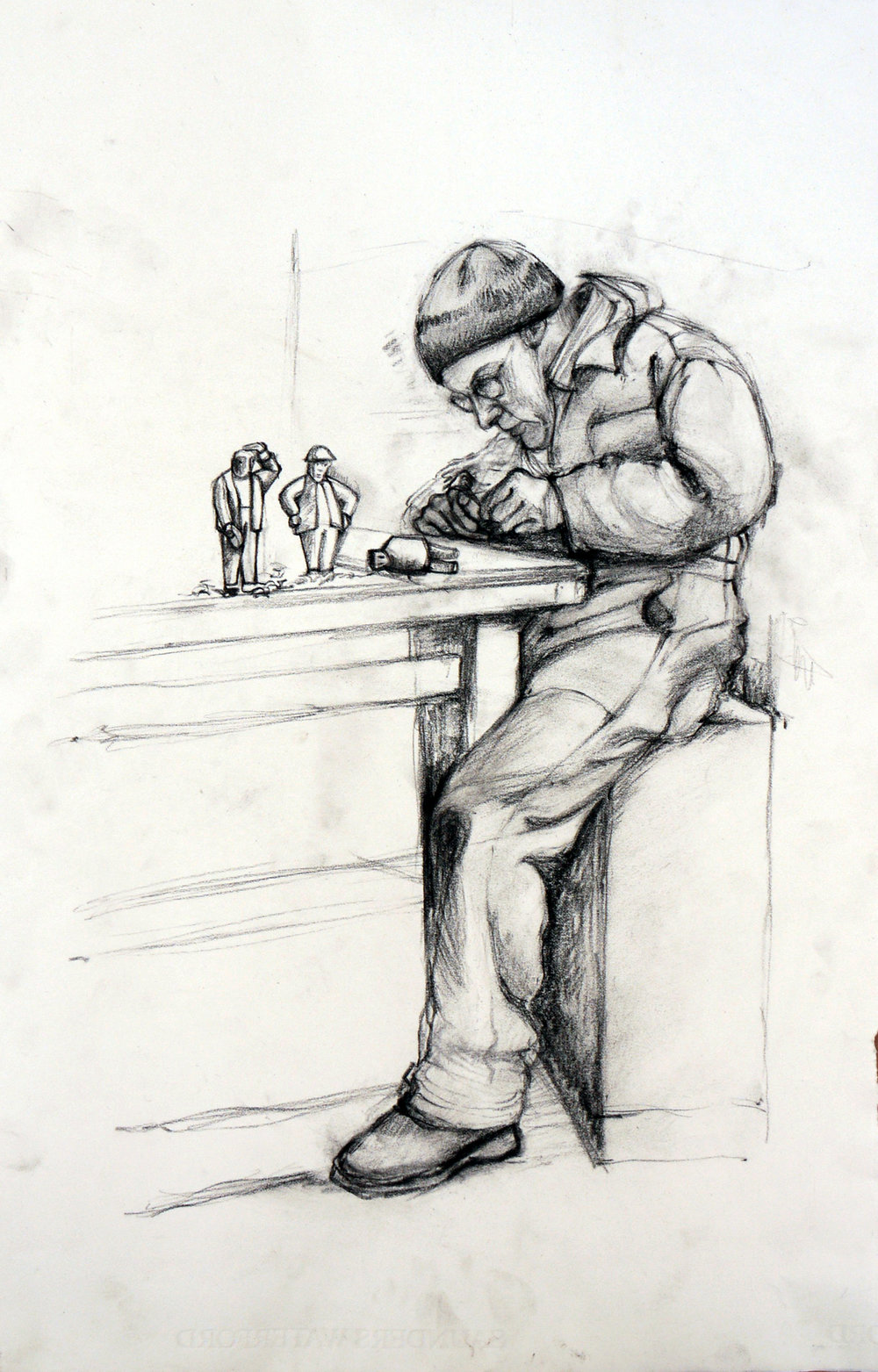 Tim at work_56x37_CharcoalonPaper_jpg.jpg