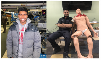 Justin Devaraj is an undergraduate biology student at StonyBrook University. He is pursuing a career in medicine and is currently a NYS certified EMT. When he is not in lab, Justin can be found at the gym powerlifting or locked in his room studying for the MCAT.
