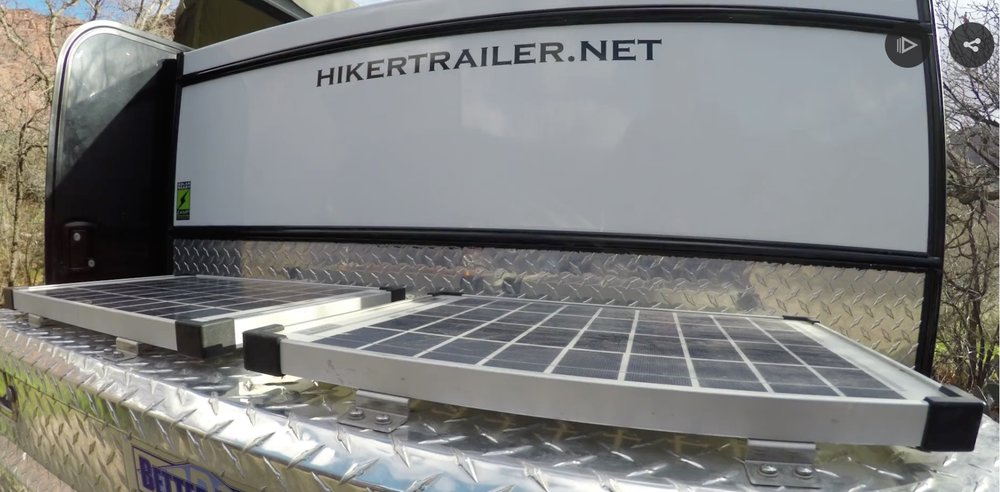 Zamp Solar Teardrop Trailer Solar Panels