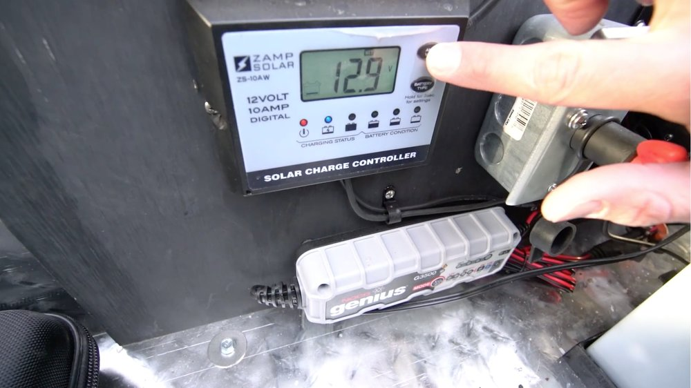 Zamp Solar Teardrop Trailer Charge Controller