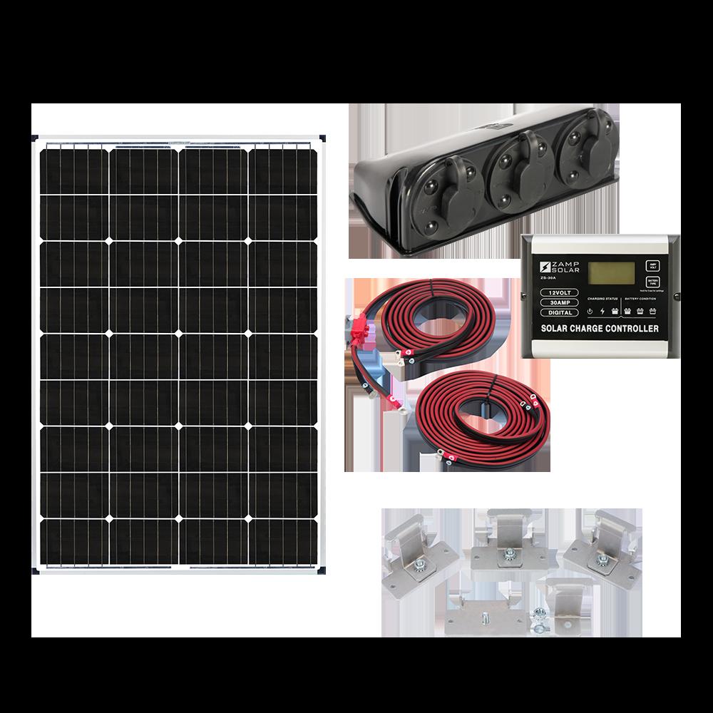 Zamp Deluxe Roof Mount Solar Panel Kits — Zamp Solar Energizes The ...