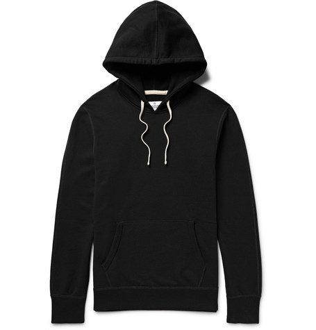 Reigning Champ Loopback Cotton-Jersey Hoodie  - James Perse