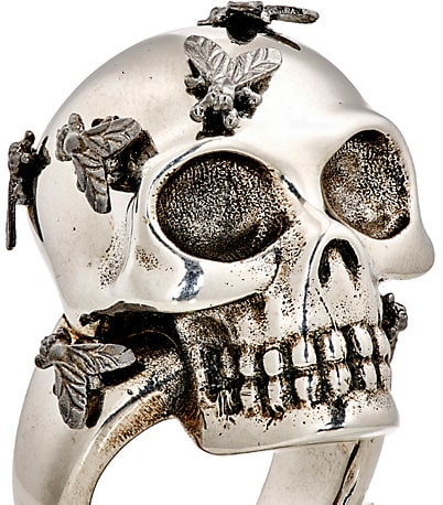 Fly Skull Ring - Alexander McQueen