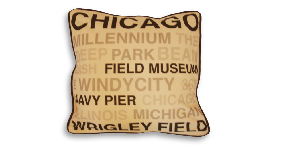 Chicago Sites Pillow Case