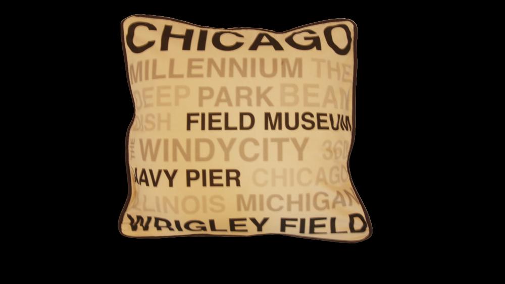 Chicago Sites Pillow Case