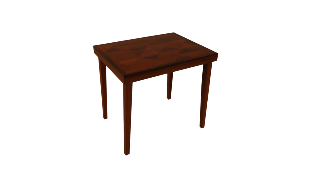 Redwood End Table