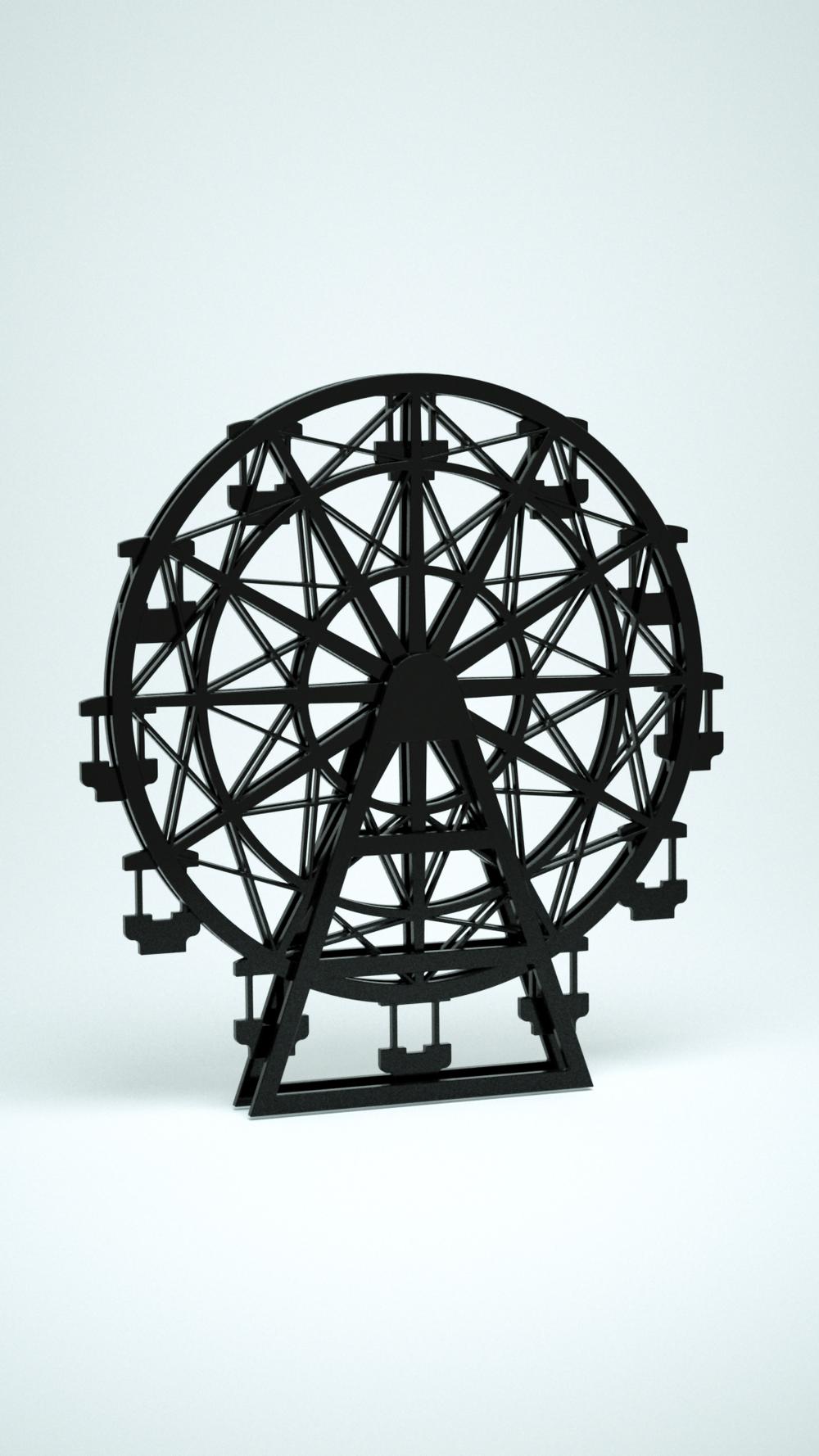 Ferris Wheel, Black