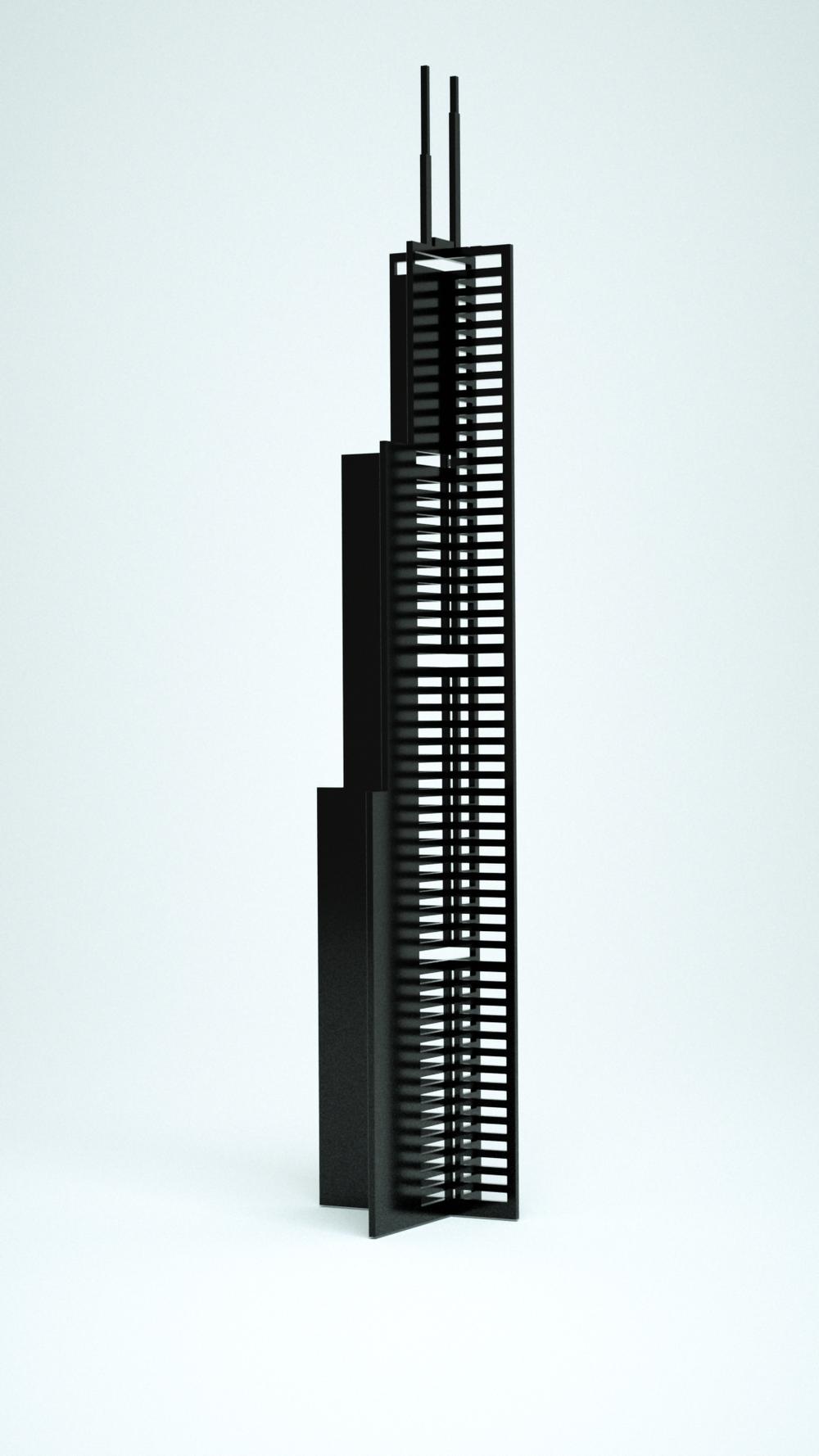 Willis Tower, Black