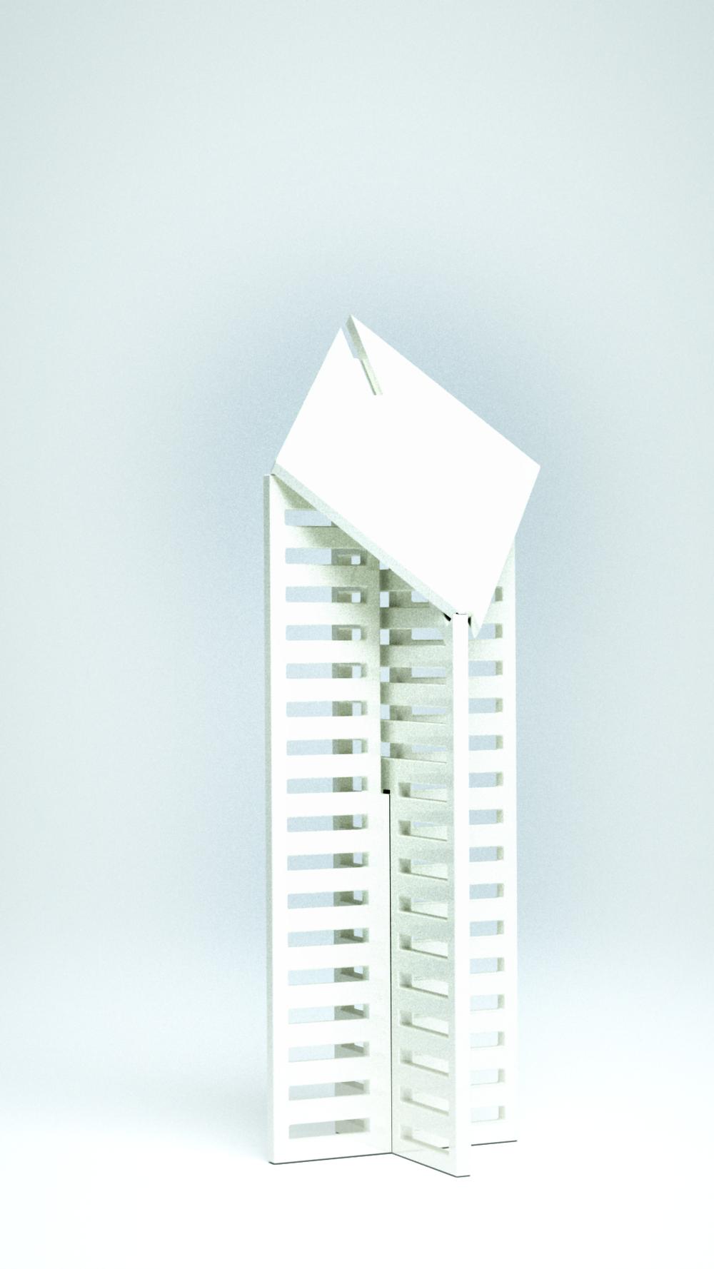Crain Communication Building, White