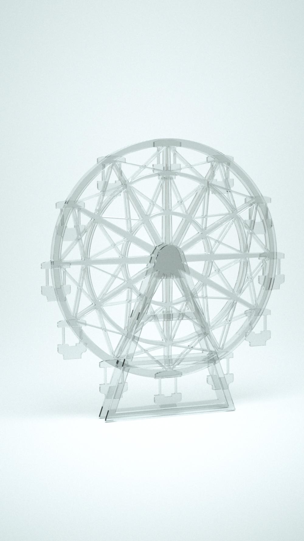 Ferris Wheel, Clear