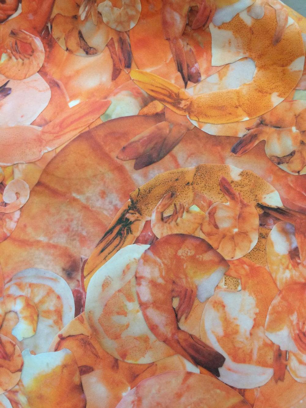 Shrimp Lilly detail