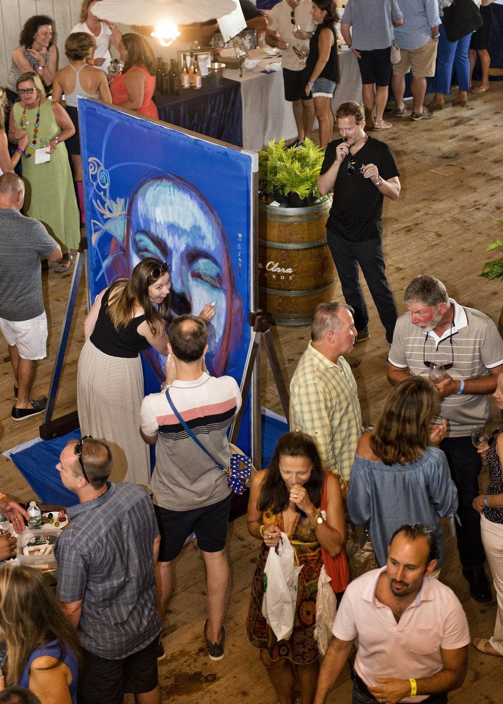 STYLE: Portrait   TITLE:Harvest Wine Festival