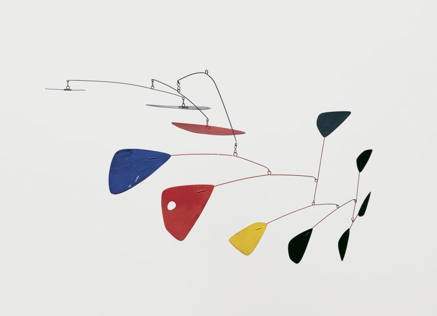 Alexander Calder   Mobile  (about 1953)