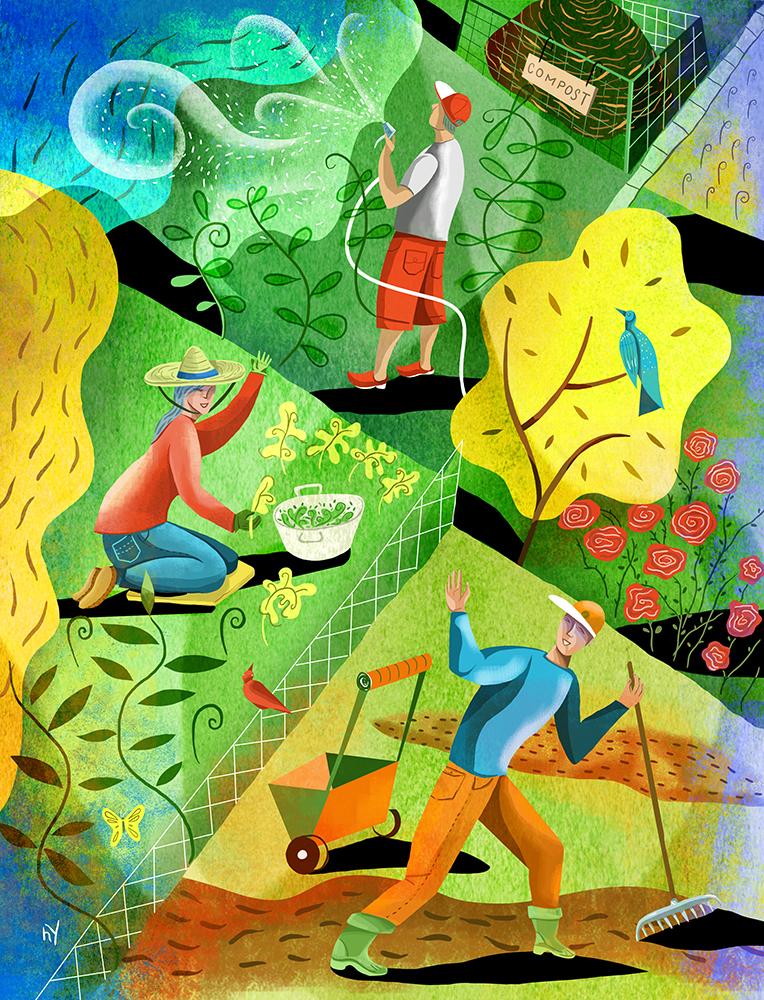 Community gardening, for Common Ground Magazine