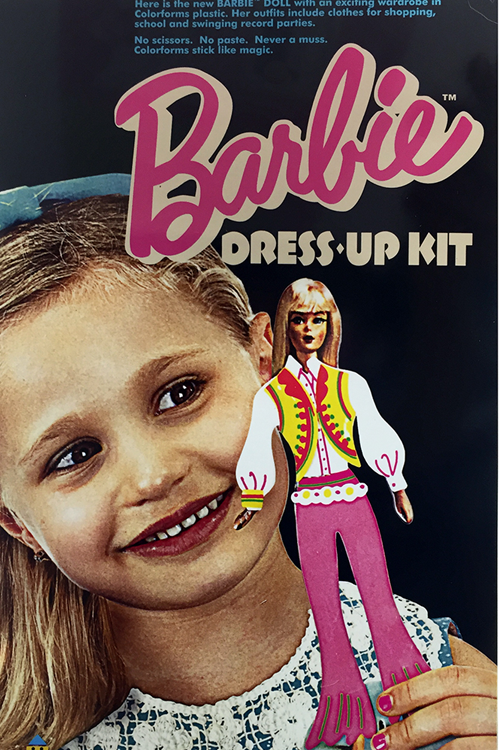 Retro Barbie Dress-up kit