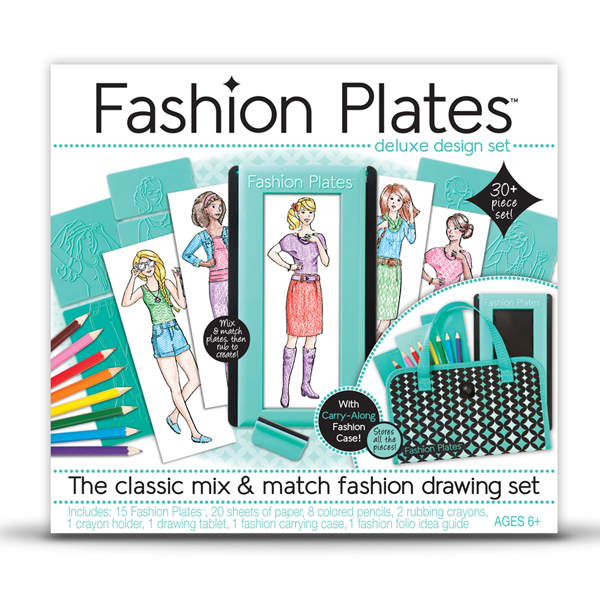 Fashion Plates drawing set